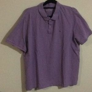 Vineyard vines men's purple polo xl